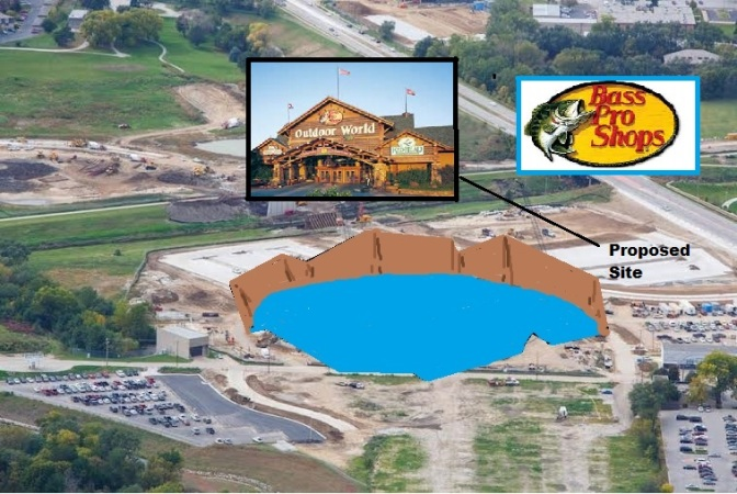 UNO AD Alberts in Discussions With Bass Pro Shops