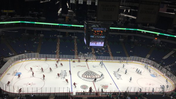 Denver and North Dakota Tie in Meaningless Consolation Game