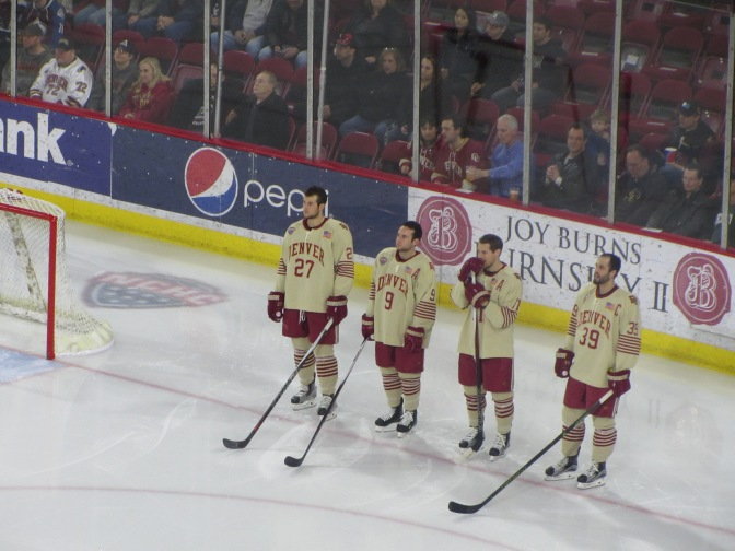 Denver Finishes Senior Weekend Sweep With 2-1 Victory Over Omaha