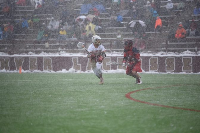 Denver tops St. John's 17-10 in another snowy affair