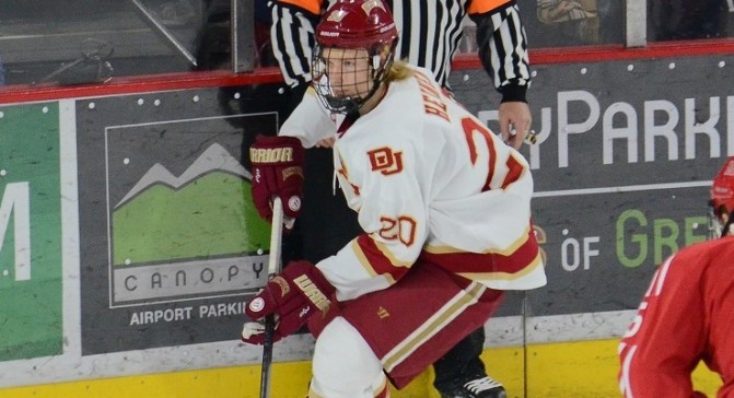 Danton Heinen Signs 3-Year Entry Level Contract with Boston Bruins
