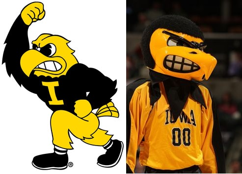 Iowa Mascot Controversy Centers on Facial Expressions