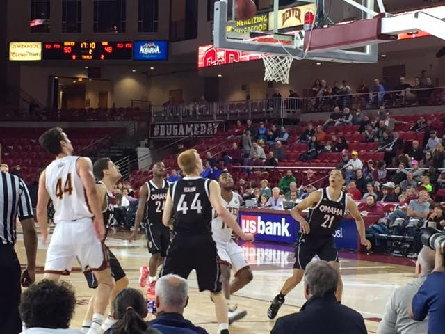 Omaha Wins Possession Battle to Defeat Pioneers 84-83