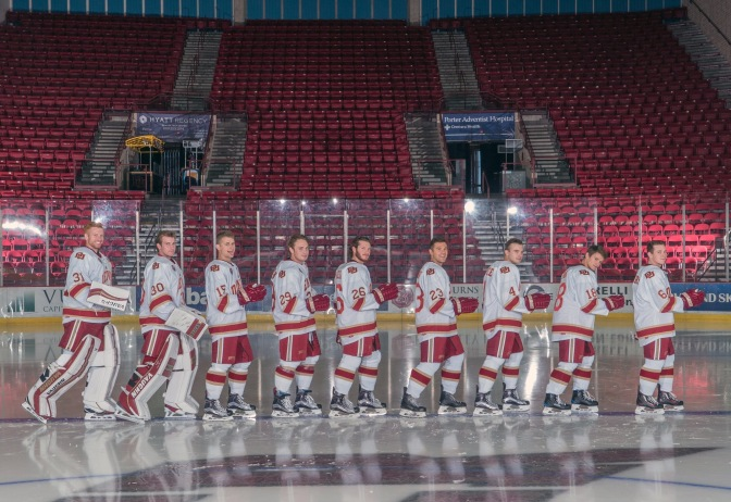 """Emotional night"" to mark the growth of DU Hockey and Jim Montgomery"
