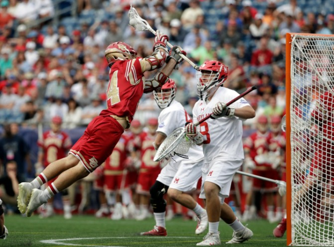 Tierney's fire benefits Denver and all of college lacrosse