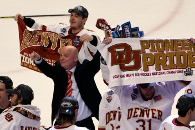 REPORT: Jim Montgomery withdraws from Panthers search, will remain at DU