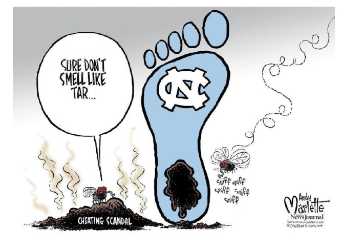 Athletic basket weaving at North Carolina