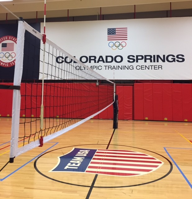 DU Volleyball at the USA Olympic Training Center