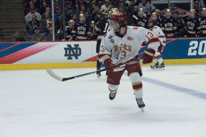 DU's Relentless Hockey Displayed in 4-2 Victory Over Notre Dame