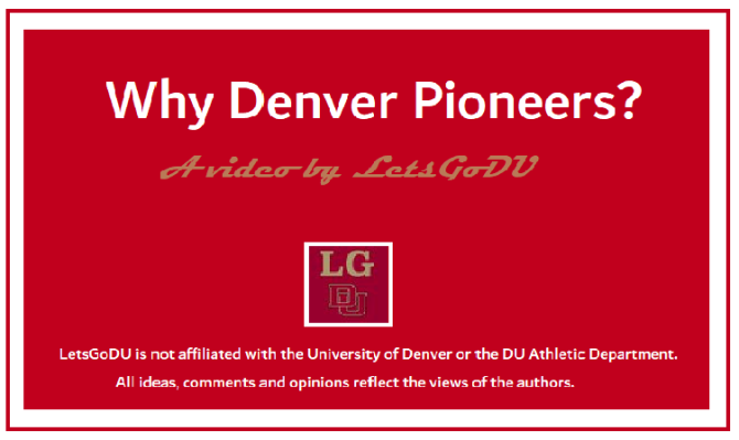 The Case for 'Denver Pioneers'