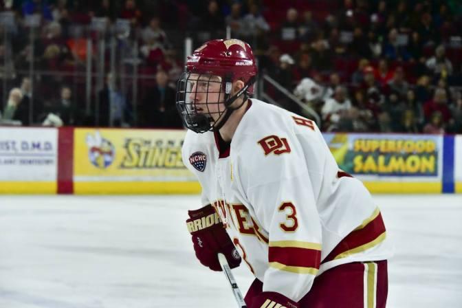 Denver captain Tariq Hammond makes season debut in North Dakota loss