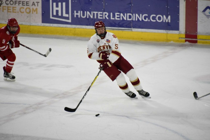 Borgstrom extends goal tally to 11 in DU's 4-2 victory over St. Cloud