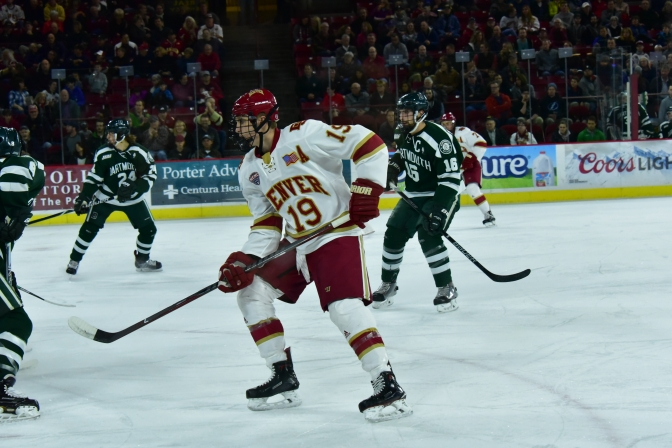 Tanner Jaillet outduels a rumbling Buffalo as Denver shuts out Dartmouth in defensive struggle