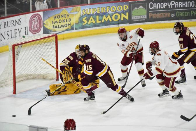 Denver Edges Duluth to Secure Weekend Sweep