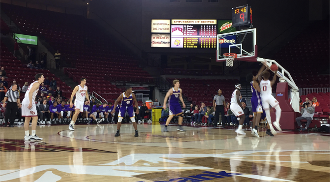 Denver Comes Up Big Late, Beats Western Illinois 70-58