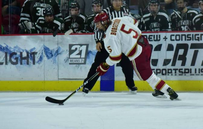 Borgstrom and Jaillet send Pioneers past UMD in 1-0 victory