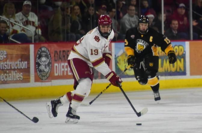 Pioneers force Game Three behind heroic effort from Troy Terry, Henrik Borgström