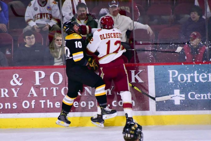 Denver offense goes cold in Game One shutout loss to Colorado College