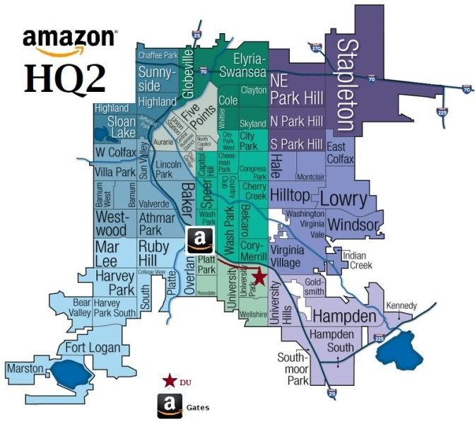 Amazon's 'HQ2' could have a seismic impact on the University of Denver area