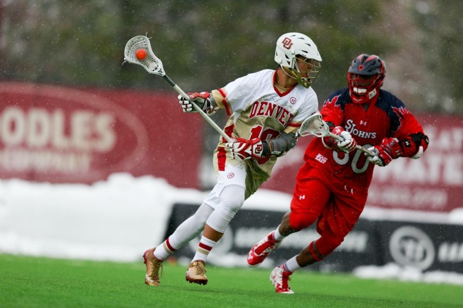 Denver weathers Red Storm's comeback, wins 15-6 in BIG EAST home opener