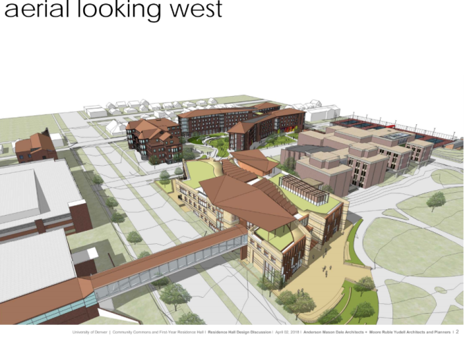 Phase 1 – First-Year Student Residence Hall and Student Commons Echo Collaboration