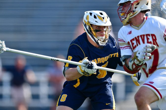 DU Weathers Marquette Surge, Wins 10-7 in Big East Semifinals