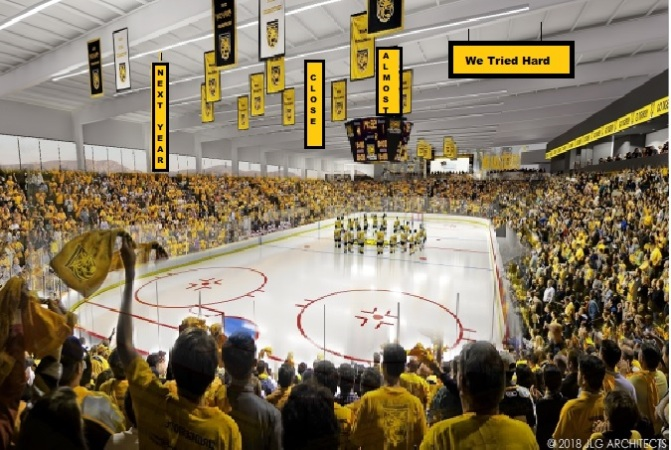 Top 10 Reasons Colorado College is moving to a smaller campus arena