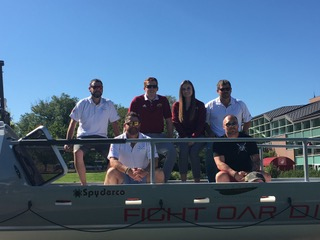 Fight Oar Die at DU: a Pioneering sendoff